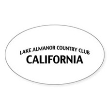 Lake Almanor Country Club California Decal