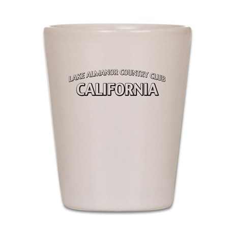 Lake Almanor Country Club California Shot Glass
