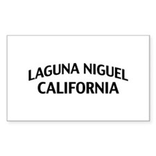 Laguna Niguel California Decal
