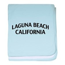 Laguna Beach California baby blanket