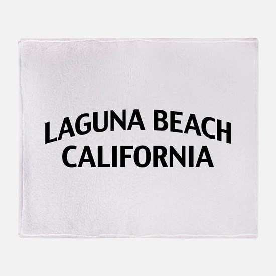 Laguna Beach California Throw Blanket