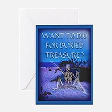 Cute Ghost adventures Greeting Card