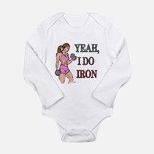 Fitness Godess Long Sleeve Infant Bodysuit