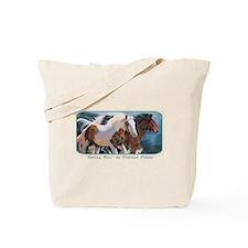 Horses (Horizon) Tote Bag