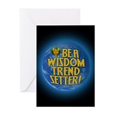 Funny Global consciousness Greeting Card