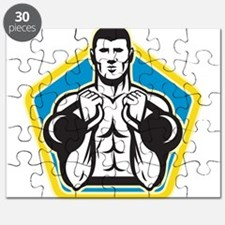 Kettlebell Exercise Weight Puzzle