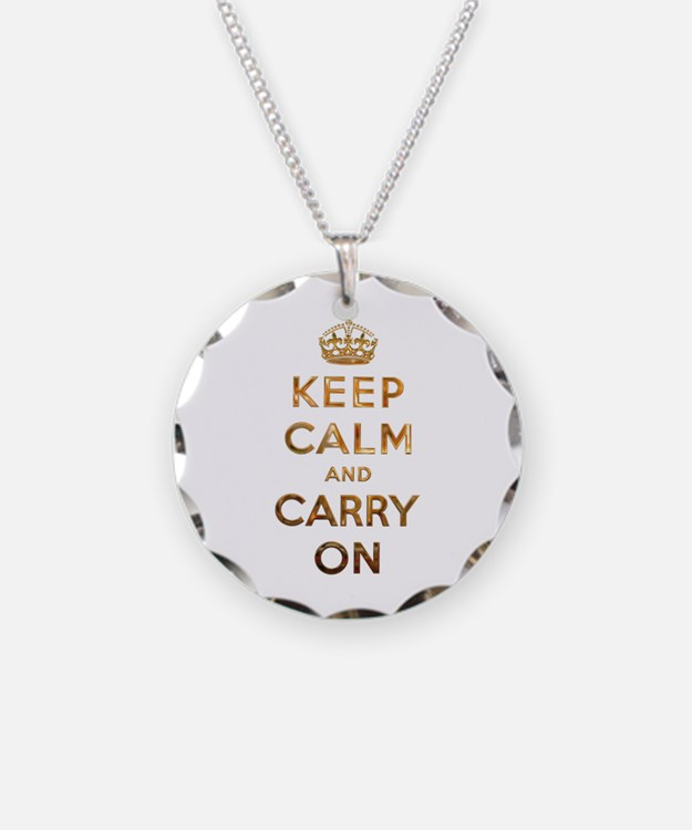 Keep Calm And Carry On Jewelry