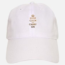 Keep Calm And Carry On Baseball Baseball Cap