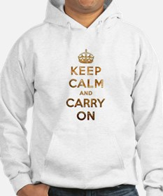 Keep Calm And Carry On Jumper Hoody
