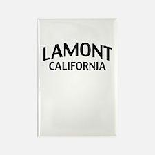 Lamont California Rectangle Magnet