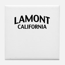 Lamont California Tile Coaster