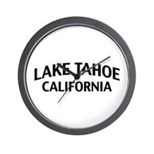 Lake Tahoe California Wall Clock