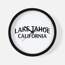 Lake Tahoe California Wall Clock