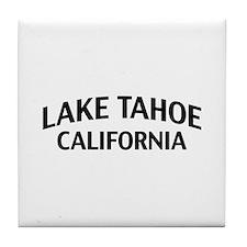 Lake Tahoe California Tile Coaster