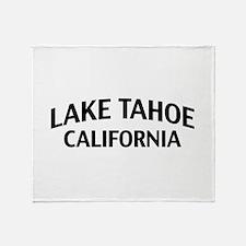Lake Tahoe California Throw Blanket