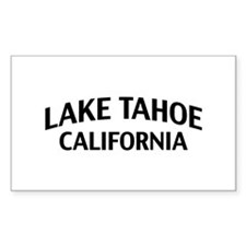 Lake Tahoe California Decal