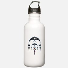 Mass Ascension Crop Circle Water Bottle