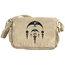 Mass Ascension Crop Circle Messenger Bag