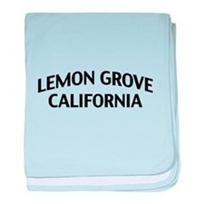 Lemon Grove California baby blanket