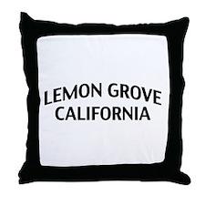Lemon Grove California Throw Pillow