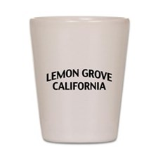 Lemon Grove California Shot Glass