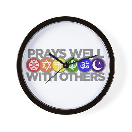 Prays Well Wall Clock
