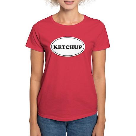 Ketchup Couples Women's Dark T-Shirt
