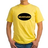 Mustard t shirt Mens Yellow T-shirts
