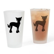Chinese Crested Dog Drinking Glass