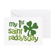 1st St. Patrick's Day Greeting Card