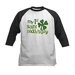 1st St. Patrick's Day Kids Baseball Jersey