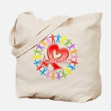 AIDS Unite in Awareness Tote Bag