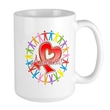 AIDS Unite in Awareness Mug