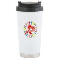 AIDS Unite in Awareness Travel Mug