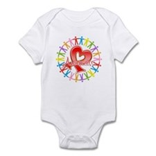 AIDS Unite in Awareness Infant Bodysuit