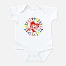 AIDS Unite in Awareness Infant Bodysuit