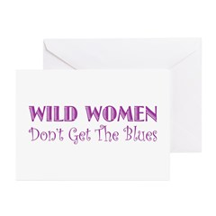 Wild Women Greeting Cards (Pk of 10)