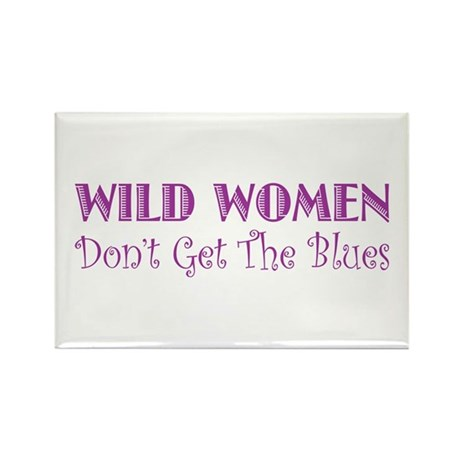 Wild Women Rectangle Magnet (10 pack)