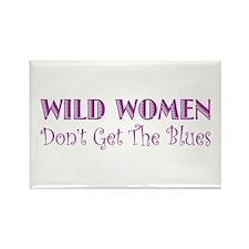 Wild Women Rectangle Magnet
