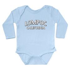 Lompoc California Long Sleeve Infant Bodysuit