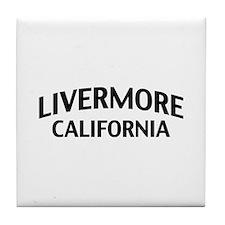 Livermore California Tile Coaster