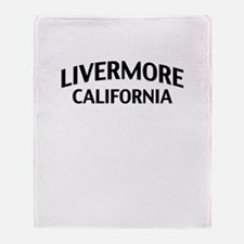 Livermore California Throw Blanket