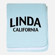 Linda California baby blanket