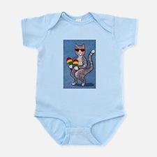 Dancing Cat with Maracas Infant Bodysuit