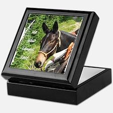 Smiling Mule Keepsake Box