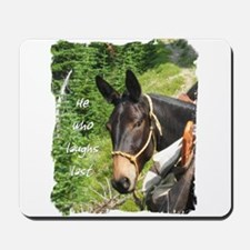 Smiling Mule Mousepad