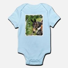 Smiling Mule Infant Bodysuit