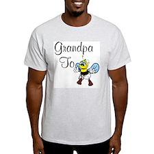 Grandpa To Bee Ash Grey T-Shirt