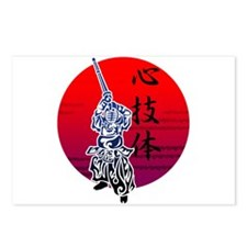 Kendo Postcards (Package of 8)