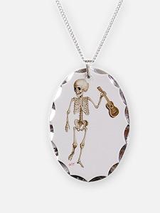 Ukulele Skeleton Necklace
